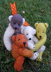Felted Bears - click to visit the gallery